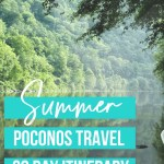 Poconos for the summer!