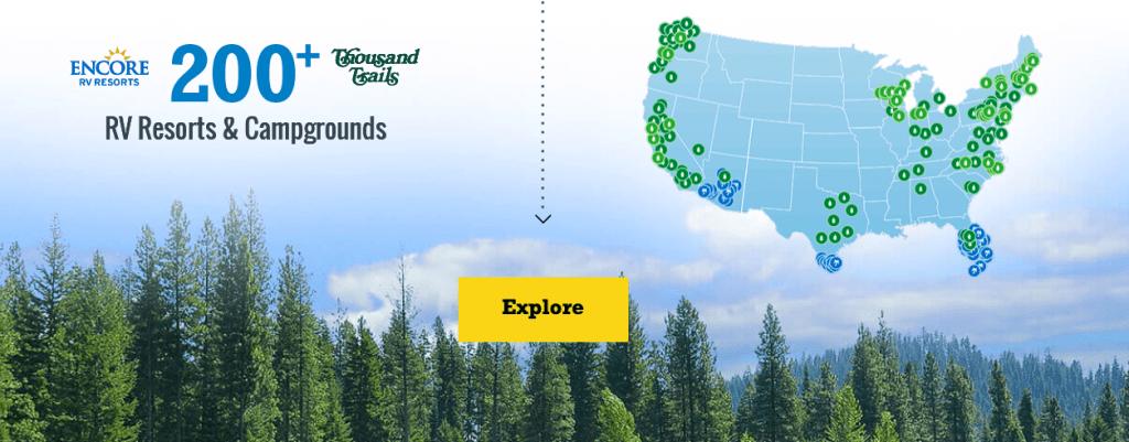 Thousand Trails Campsites on the Oregon Coast