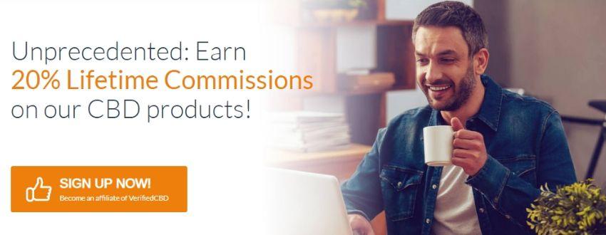 Unprecedented 20% Lifetime commissions