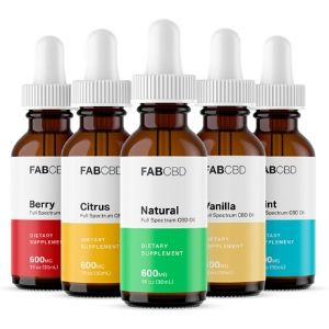 Fab CBD CBD Oil Anxiety