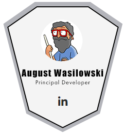 August Wasilowski Live CGI Principal Developer