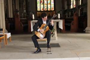 Book A Solo Classical Guitarist in London - Live Classical Musicians