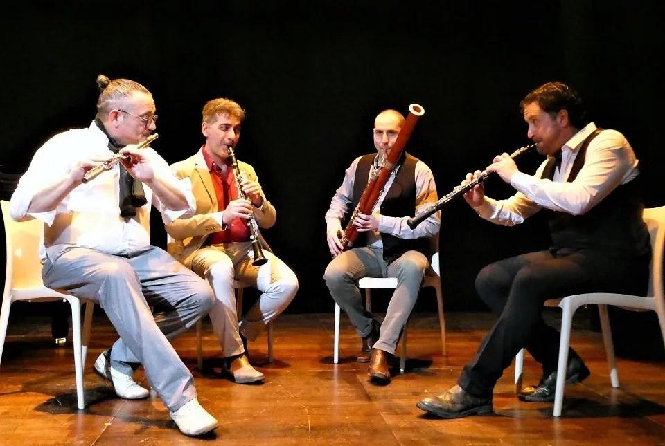 4 Piece Woodwind Ensemble in London Photo by Marina Carlini 2