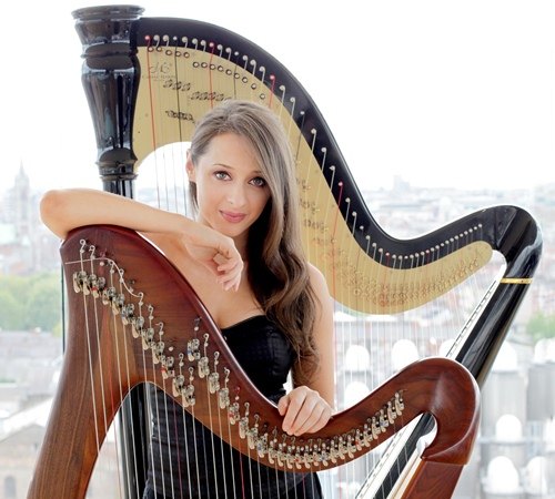 Book An Irish Harpist in London - Live Classical Musicians