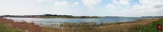 佐倉ふるさと広場付近の西印旛沼の写真