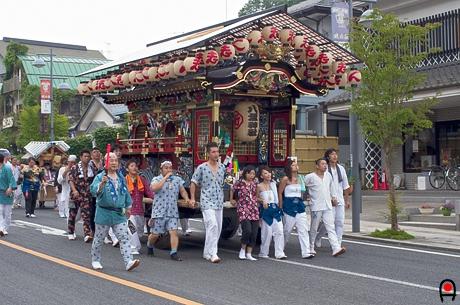 益子祇園祭屋台6の写真