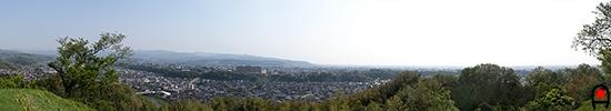 卯辰山から金沢の眺めの写真
