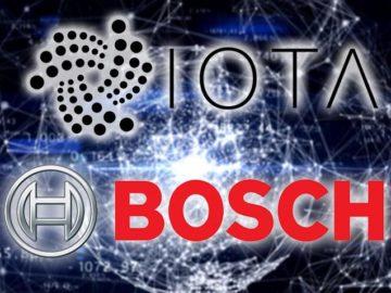 IOTA recebe investimento da BOSH