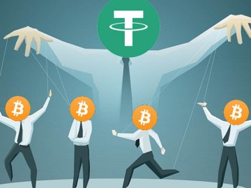 Tether Manipula Bitcoin