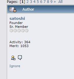 Perfil Satoshi