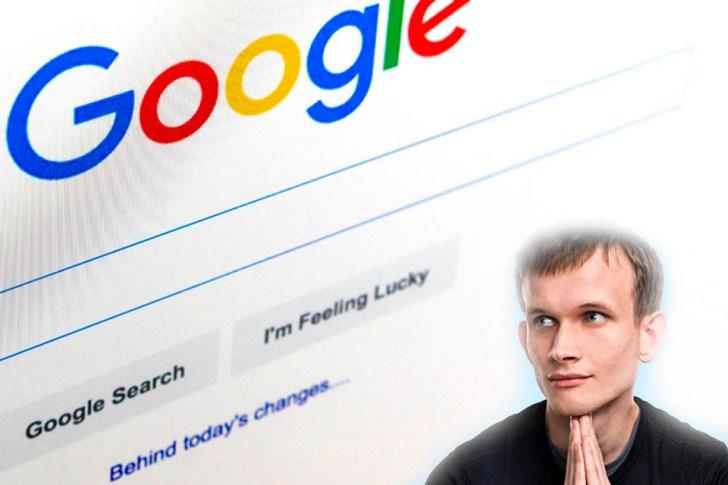 Google Vitalik Buterin