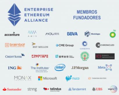 Ethereum Alliance - Membros Fundadores