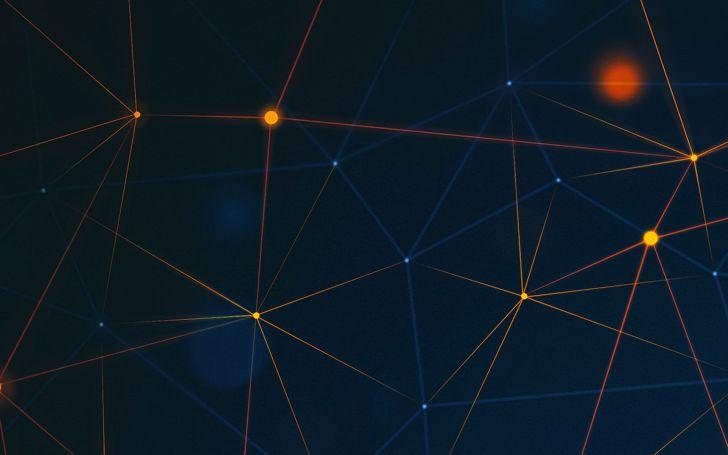 blockchain wallpaper