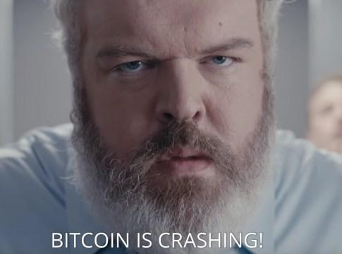"""""""Hodor"""" Ator de game of Thrones faz comercial sobre Bitcoin e criptomoedas"""