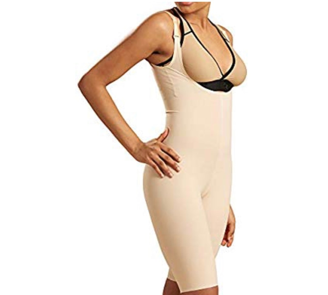 Marena Recovery Knee-Length Compression Girdle with High-Back