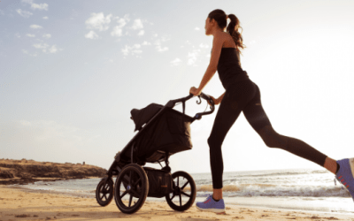 Best Mommy and Me Stroller Workout With Baby or Toddler