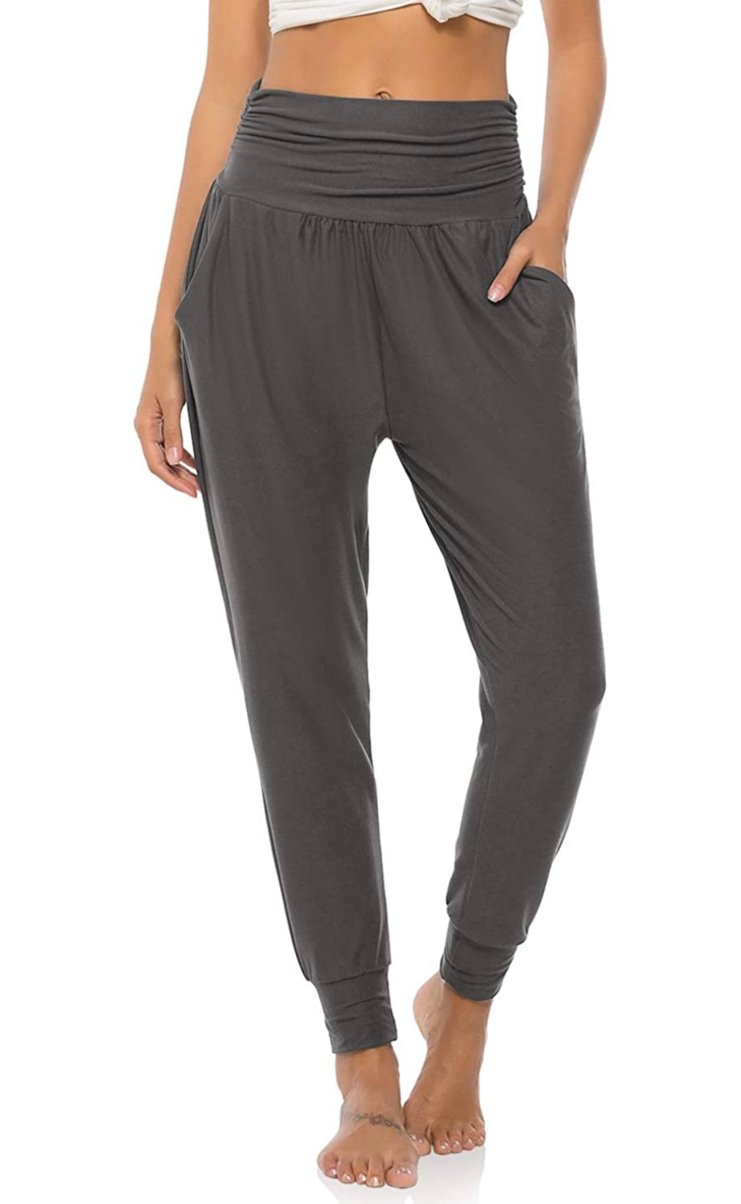 Women's Yoga Sweatpants - Loose Workout Joggers