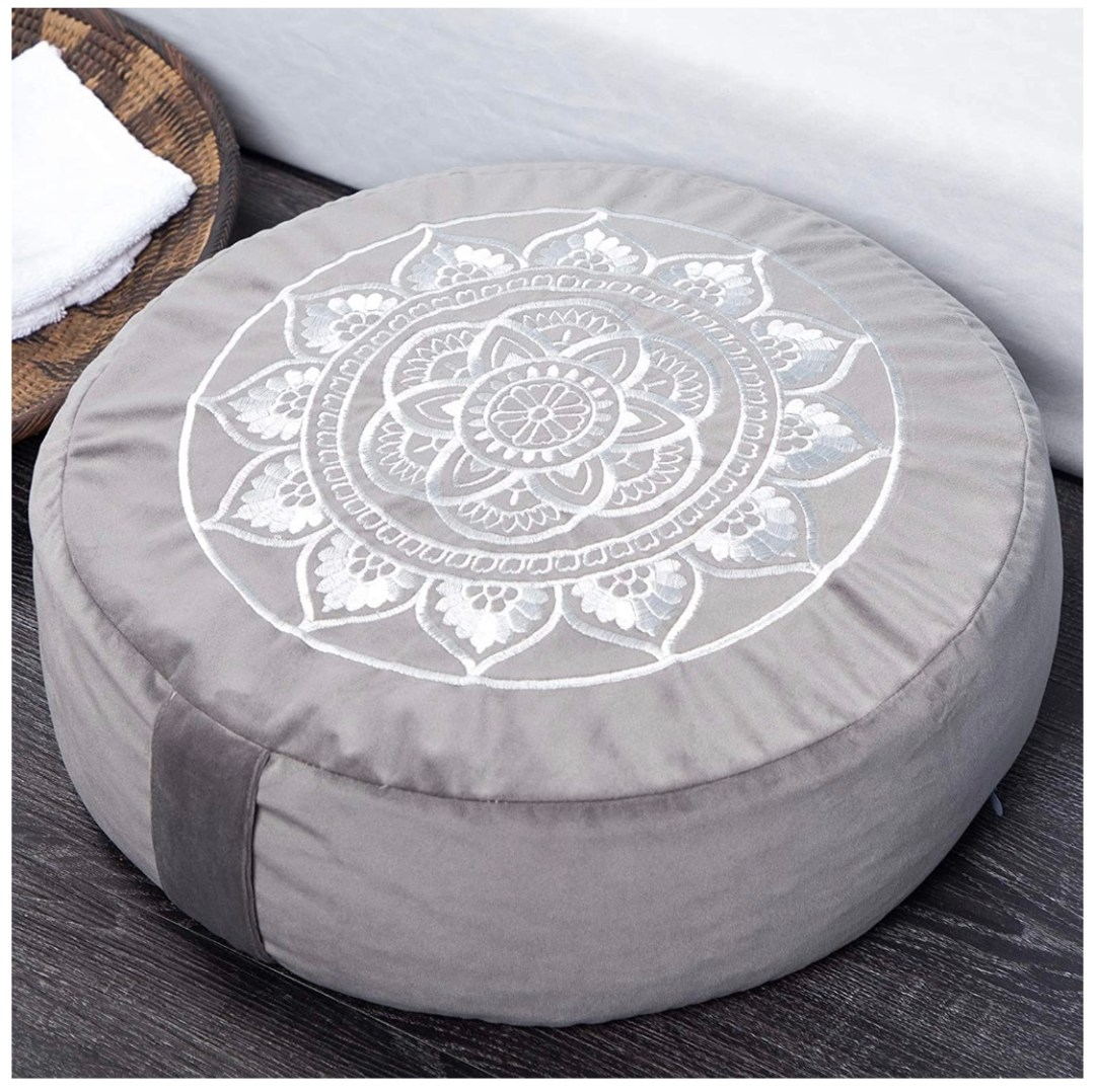 Large Velvet Sitting Pillow