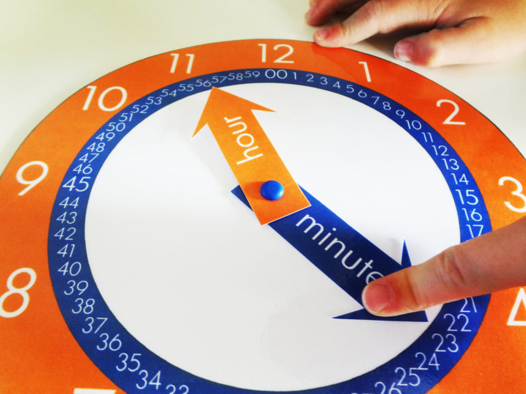 Free Printable Clock To Teach Kids How To Tell Time