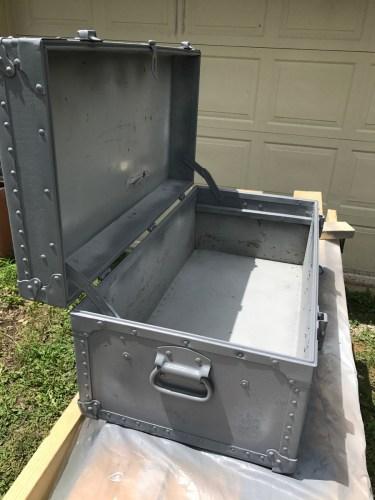 army trunk