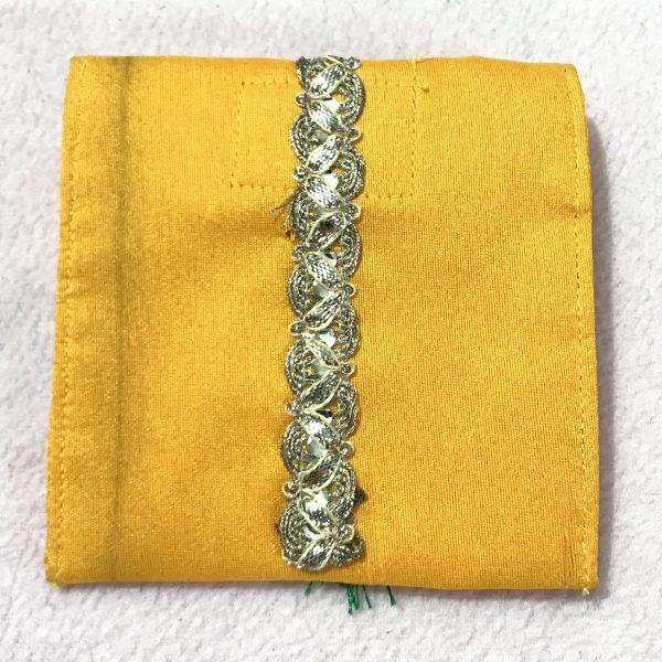 Yellow parrot small shagun envelop 3