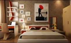 desain kamar tidur unik 3