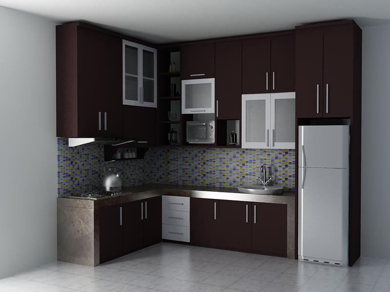 model kitchen set minimalis 1