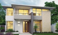 Model rumah minimalis 2 lantai 15