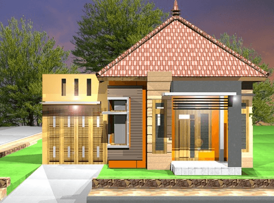 45 Gambar Desain Rumah Kecil Tapi Kelihatan Mewah Gratis Unduh