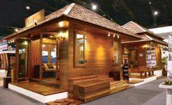 Rumah Kayu Minimalis Terbaru 18