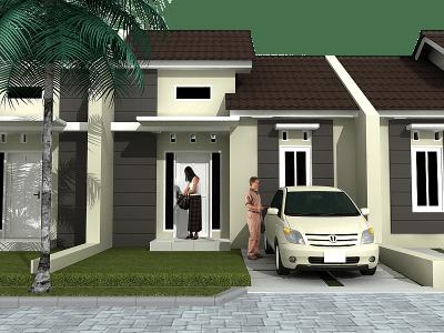 desain rumah minimalis type 36 1 lantai tampak depan terbaru