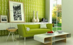 20 Model Sofa Minimalis Modern Untuk Ruang Tamu Kecil hijau