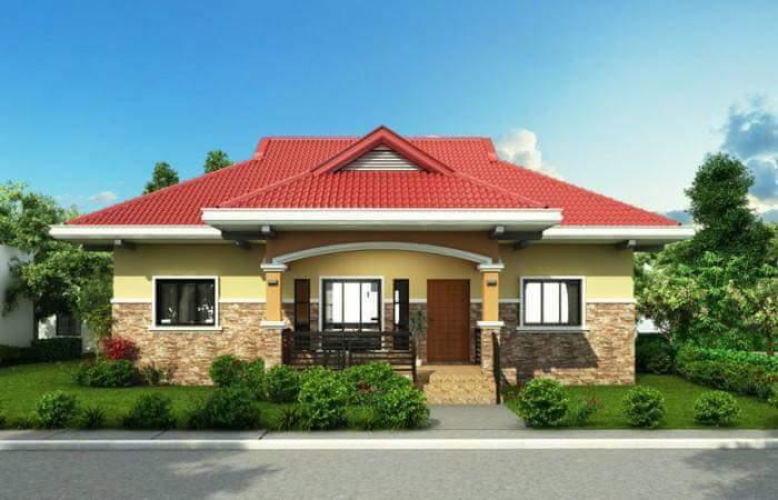Gambar Teras Rumah Kampung Sederhana  mantap inilah 10 rumah idaman sederhana di desa keren terbaru