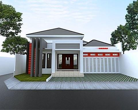 73+ Gambar Tampak Depan Rumah Pake Batu Alam Terbaru
