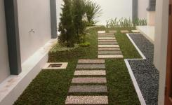 Taman Belakang Rumah Minimalis Lahan Sempit Indah