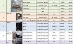 Daftar Harga Kitchen Set Minimalis Murah Terbaru 2020