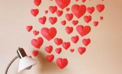 Cara Membuat Hiasan Dinding Kamar Buatan Sendiri love