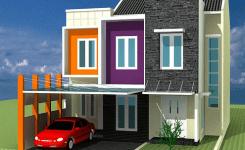 80 Desain Rumah Minimalis 2 Lantai 6×15 Terbaru 2