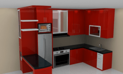 40+ Gambar Kitchen Set Minimalis Sederhana Dan Murah