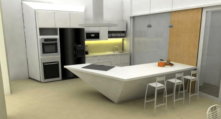 Desain Ruang Tamu Minimalis Ukuran 2x2 99 gambar dapur minimalis ukuran 2x3 mungil dan elegan