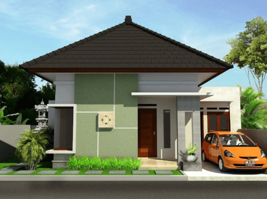 10 Bentuk Rumah Sederhana Ukuran 6x9 Terbaru 2019