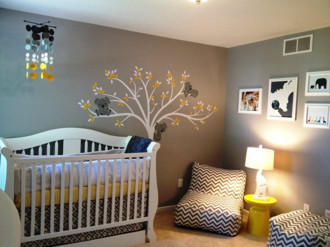 Image Of Baby Nursery Decoration Color