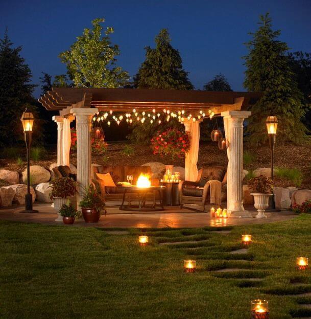 24 Cozy Backyard Patio ideas - Live DIY Ideas on Cozy Patio Ideas id=75777