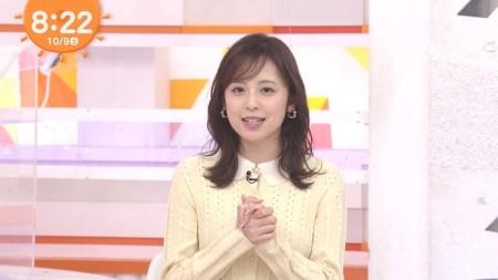 久慈暁子アナのおっぱい