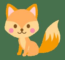狐が可愛い