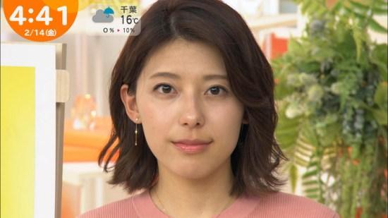 上村彩子アナの乳