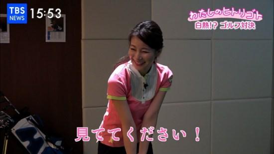 島津久美子アナのおっぱい