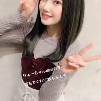 北川綾巴ちゃん、髪をNEWカラーに