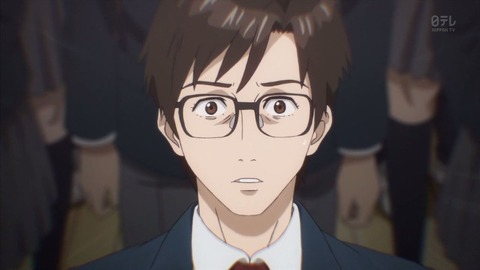 Image result for parasyte and yuri on ice