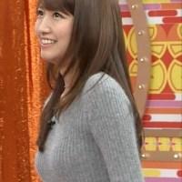 三田友梨佳・ミタパン 女子アナの着衣巨乳がエロい画像30枚